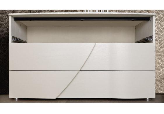 συρταριέρα λευκή εσωτερικό