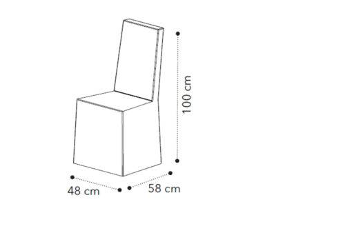 διαστάσεις πολυθρόνας με φιόγκο