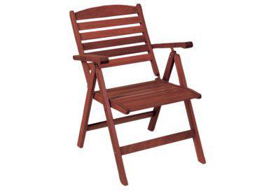 ξύλινη αναδιπλώμενη πολυθρόνα πέντε θέσεων shorea