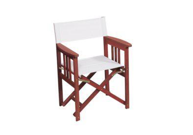 ξύλινη ανοιγόμενη πολυθρόνα σκηνοθέτη shorea
