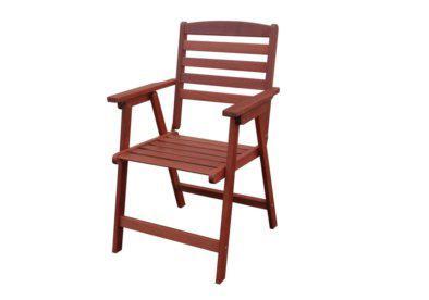 ξύλινη χαμηλόπλατη πτυσσόμενη πολυθρόνα shorea