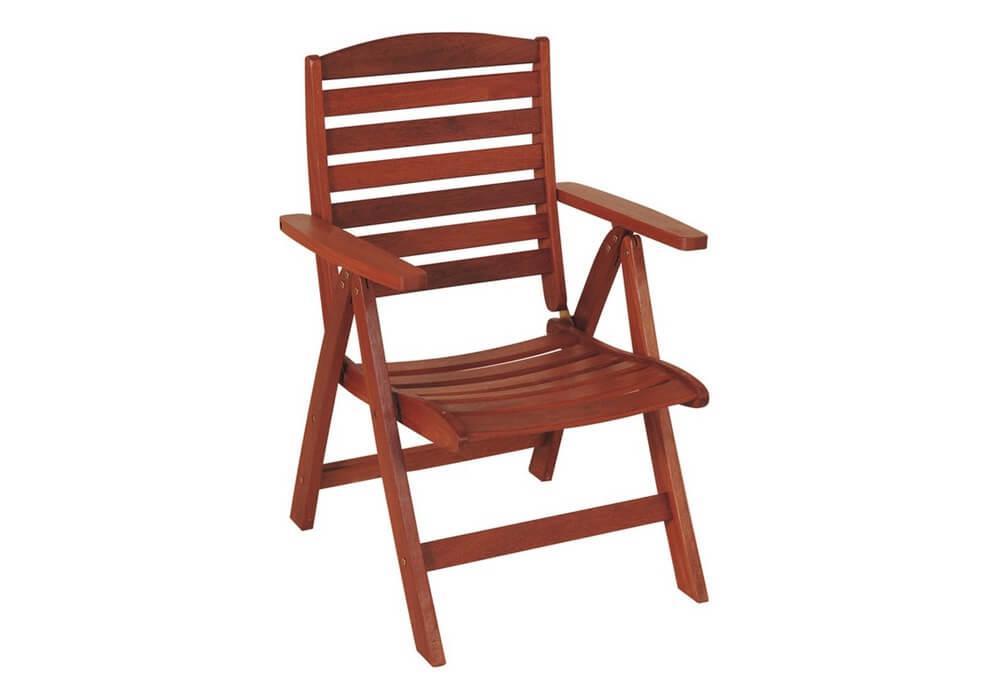 ξύλινη πολυθρόνα χαμηλής πλάτης με πέντε θέσεις shorea