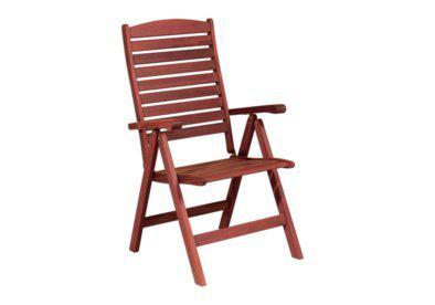 ξύλινη ψηλόπλατη πολυθρόνα πέντε θέσεων shorea