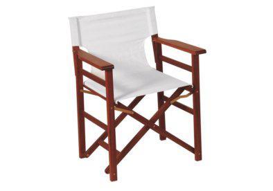ξύλινη πτυσσόμενη πολυθρόνα σκηνοθέτη shorea