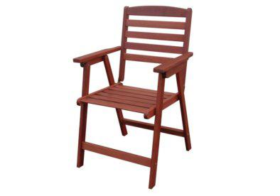 ξύλινη ανοιγόμενη πολυθρόνα χαμηλής πλάτης shorea