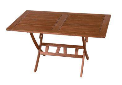 ξύλινο πτυσσόμενο τραπέζι σε ορθογώνιο σχήμα