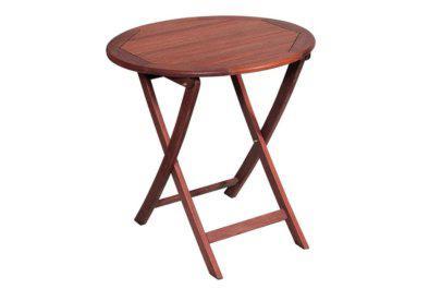 ξύλινο στρογγυλό αναδιπλώμενο τραπέζι shorea