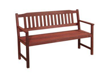 ξύλινος καναπές δύο θέσεων από shorea