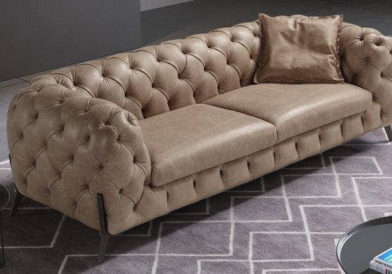 Luxury δερμάτινος Ιταλικός καναπές Batal
