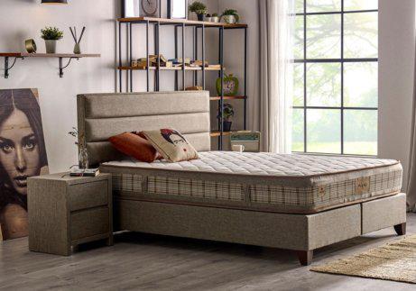 Λιτό κρεβάτι βάση με αποθηκευτικό χώρο