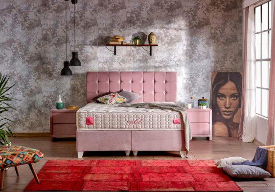 ροζ βάση με αποθηκευτικό δωματιο