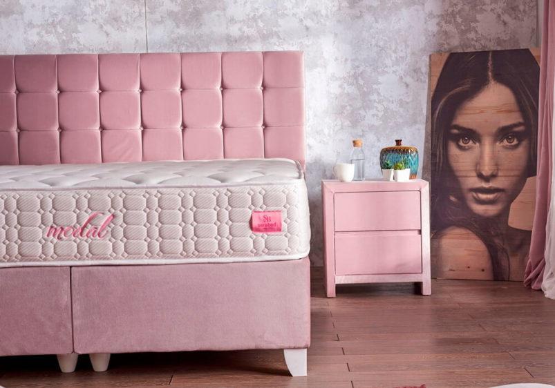 ροζ βάση με αποθηκευτικό