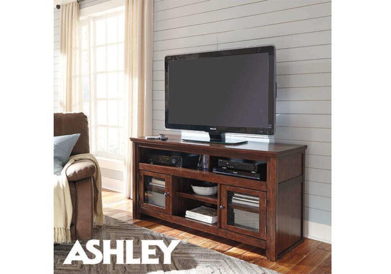 κλασικό έπιπλο tv ashley καρυδί