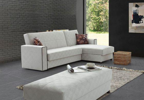 καναπές με μεταφερόμενη γωνία