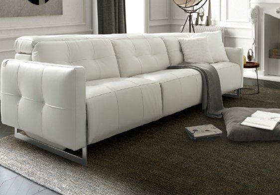 Ιταλικός μοντέρνος δερμάτινος καναπές