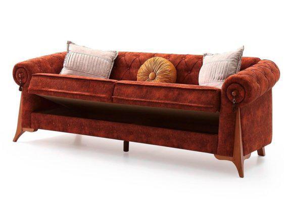 λασικός καπιτονέ καναπές
