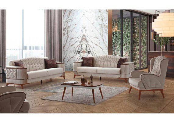 Ιταλικό σαλόνι με ρετρό αισθητική, ιταλική διακόσμηση