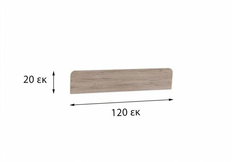 ξύλινη επιφάνεια για κουκέτα