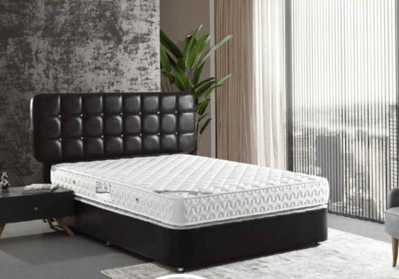 Κρεβάτι- Υπόστρωμα με δερματίνη