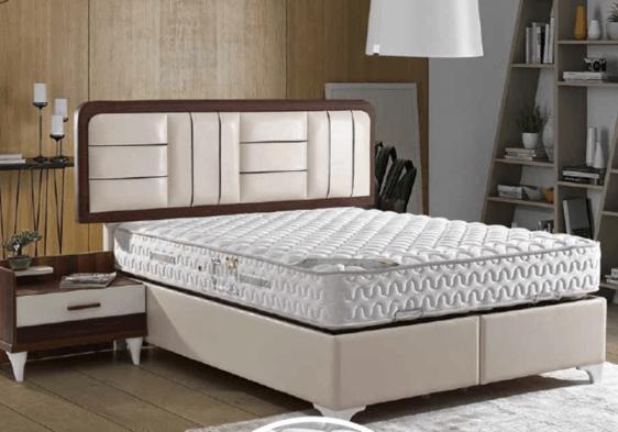 Μοντέρνο κρεβάτι με αποθηκευτικό χώρο