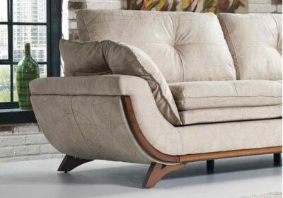 Καναπές με μαξιλάρες καθίσματος Ass-105099