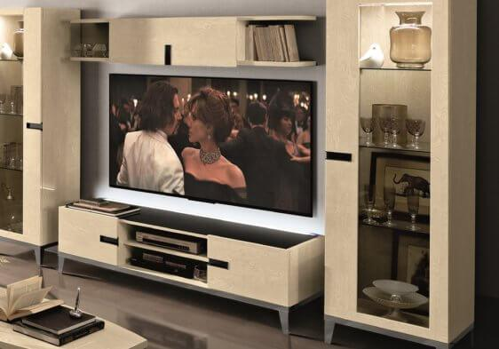 Φωτιζόμενο έπιπλο τηλεόρασης