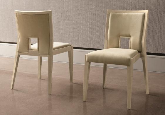 Μοντέρνα καρέκλα τραπεζαρίας με χερούλι