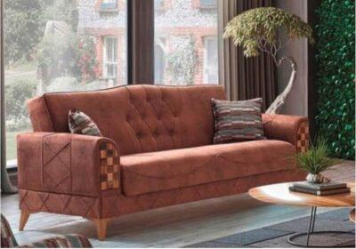 Τριθέσιος καναπές με αποθηκευτικό χώρο Ef-105123