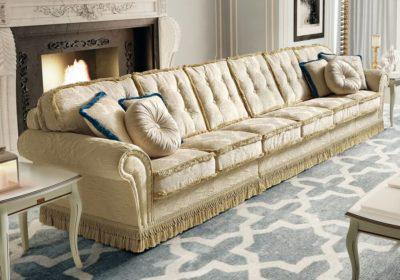 Εξαθέσιος κλασικός καναπές