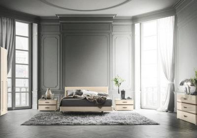 Ιταλική μοντέρνα κρεβατοκάμαρα