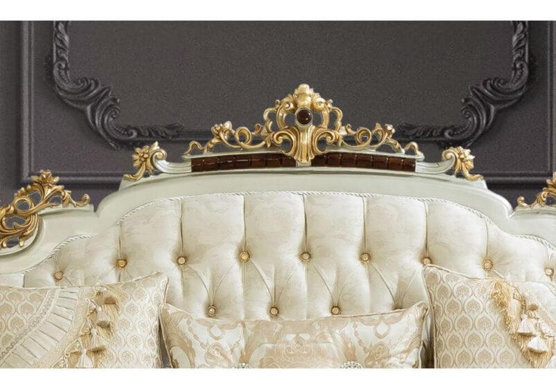 aristokratiko saloni me marmaro fylla xrysou kai fylla asimiou