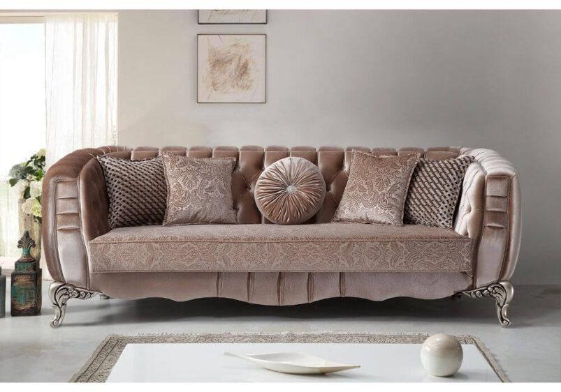 luxury vintage καναπές καπιτονέ πλάτη