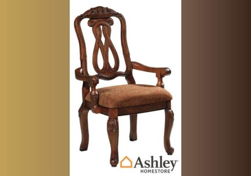 Σκαλιστή πολυθρόνα τραπεζαρίας από την Ashley 1