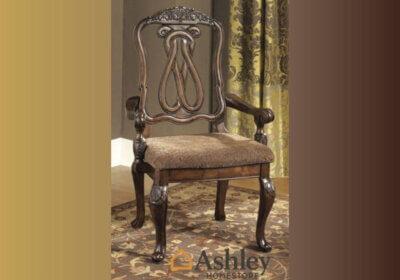 Σκαλιστή πολυθρόνα τραπεζαρίας από την Ashley 2