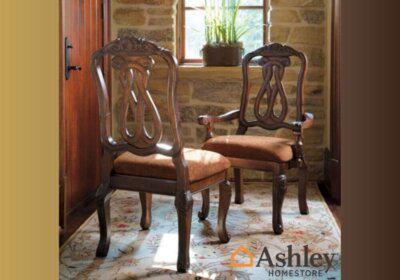 Σκαλιστή πολυθρόνα τραπεζαρίας από την Ashley