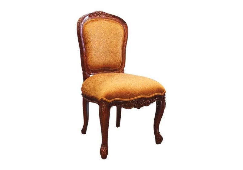 καρέκλα τραπεζαριας απο μαονι