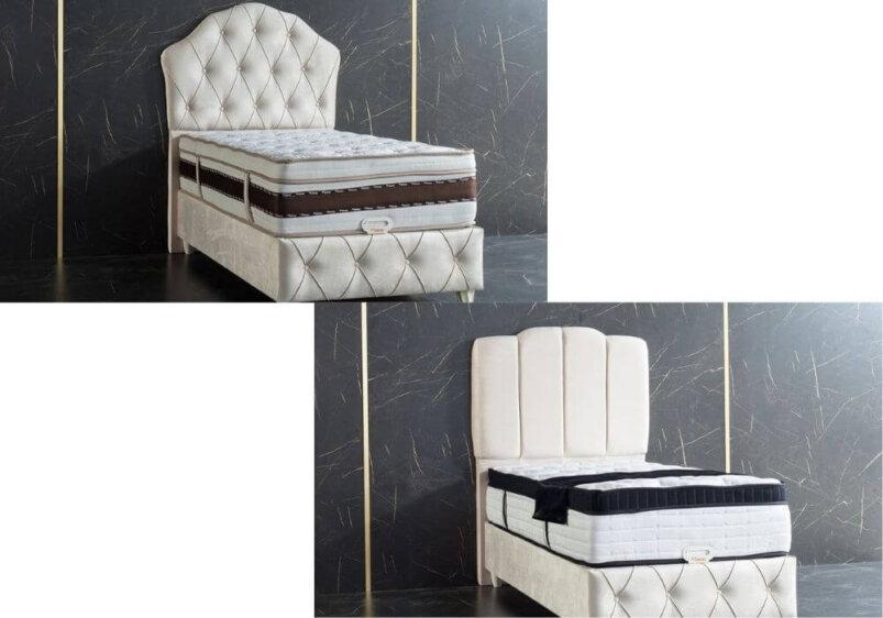 κρεβάτι με επιλογή κεφαλαριού