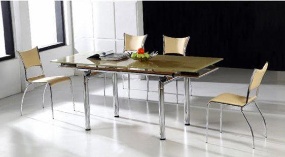 Τραπέζι Κουζίνας Γυαλί HA 0401T