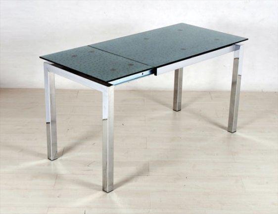 Τραπέζι Κουζίνας A2019Φ, Διαστάσεις:100 x 65+40