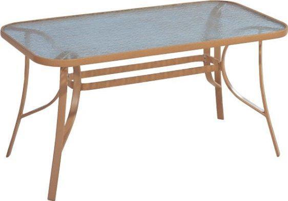 Τραπέζι Αλουμινίου Μπεζ Σκούρο Sar-106264