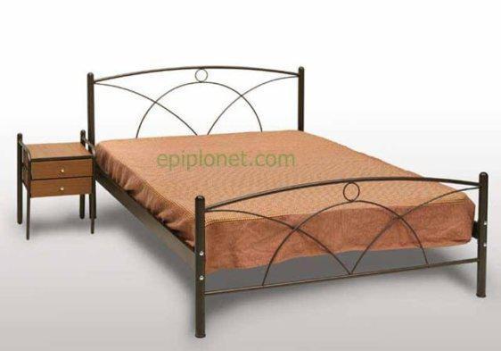 Κρεβάτι Μεταλλικό Γ-Νάξος