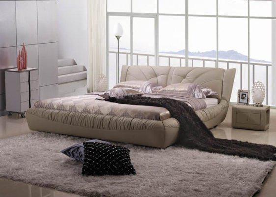 Κρεβάτι Δερμάτινο Teta