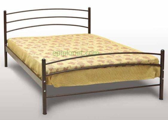 Κρεβάτι Μεταλλικό Μονό ή Ημίδιπλο Γογ-Τόξο