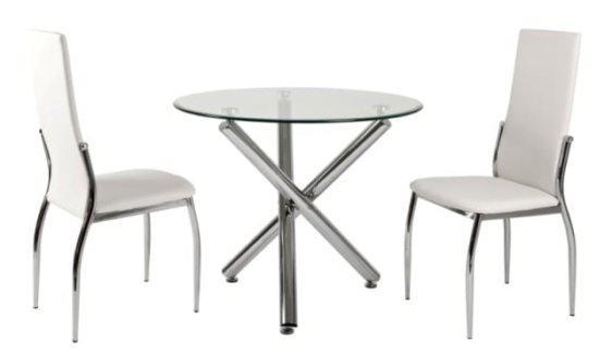 Τραπέζι Κουζίνας Στρογγυλό Var-Kozi, Διαστάσεις:90x90εκ.