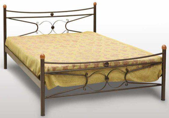 Κρεβάτι Μεταλλικό Γ-Πέταλο