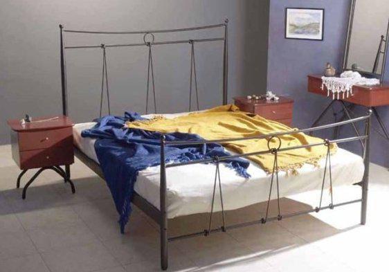 Κρεβάτι μεταλλικό Ελληνικής Κατασκευής Γ-050371