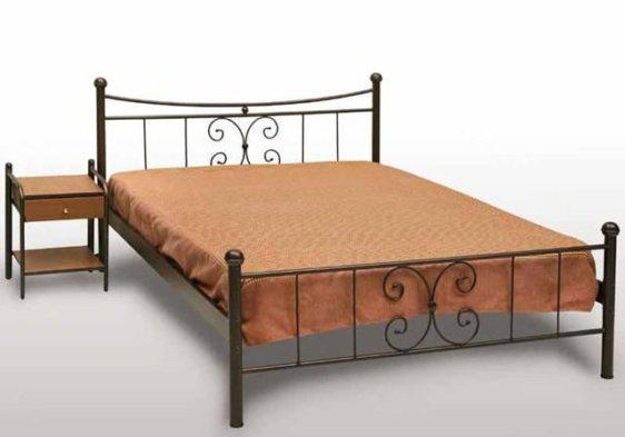 Κρεβάτι Μεταλλικό Γ-Πεταλούδα