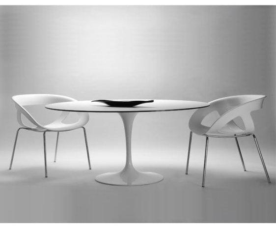 Τραπέζι Στρογγυλό Saturno από την Gaber, Διάμετρος:120