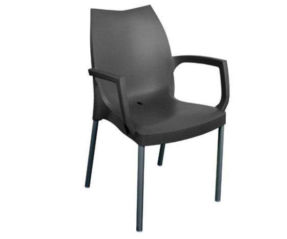 Καρέκλα Tulip b με Μπράτσα από την Gaber