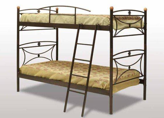 Διώροφο μεταλλικό κρεβάτι Γ-Μαργαρίτα